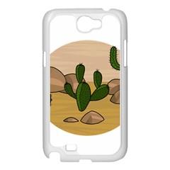 Desert 2 Samsung Galaxy Note 2 Case (White)