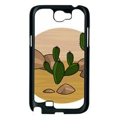 Desert 2 Samsung Galaxy Note 2 Case (Black)