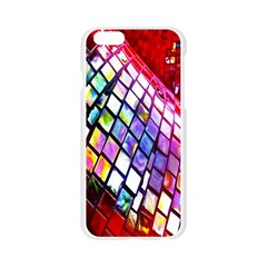 Multicolor Wall Mosaic Apple Seamless iPhone 6/6S Case (Transparent)