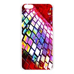 Multicolor Wall Mosaic Apple Seamless iPhone 6 Plus/6S Plus Case (Transparent)