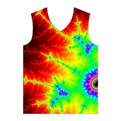 Misc Fractals Men s Basketball Tank Top