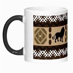 Lion African Vector Pattern Morph Mugs