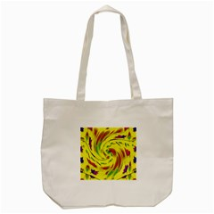 Leaf And Rainbows In The Wind Tote Bag (cream)