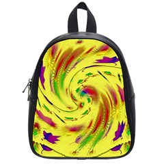 Leaf And Rainbows In The Wind School Bags (small)
