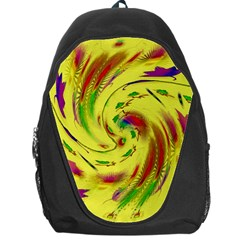 Leaf And Rainbows In The Wind Backpack Bag