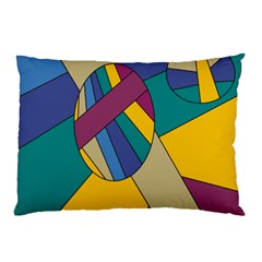 Unknown Abstract Modern Art By Eml180516 Pillow Case