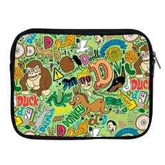 D Pattern Apple Ipad 2/3/4 Zipper Cases