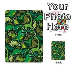 Dino Pattern Cartoons Multi Purpose Cards (rectangle)