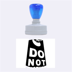 Do Not Disturb Rubber Oval Stamps