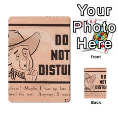 Do Not Disturb I Want To Sleep Thanks Multi Purpose Cards (rectangle)