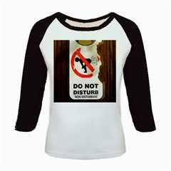 Do Not Disturb Sign Please Go Away I Don T Care Kids Baseball Jerseys