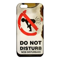 Do Not Disturb Sign Please Go Away I Don T Care iPhone 6/6S TPU Case