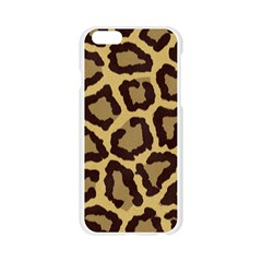 Leopard Apple Seamless iPhone 6/6S Case (Transparent)