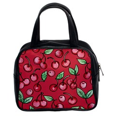 Cherry Cherries For Spring Classic Handbags (2 Sides)