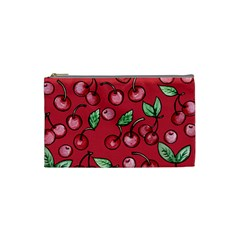Cherry Cherries For Spring Cosmetic Bag (Small)
