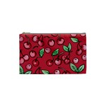 Cherry Cherries For Spring Cosmetic Bag (Small)  Front