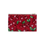 Cherry Cherries For Spring Cosmetic Bag (Small)  Back