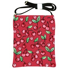 Cherry Cherries For Spring Shoulder Sling Bags
