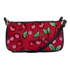 Cherry Cherries For Spring Shoulder Clutch Bags