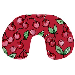 Cherry Cherries For Spring Travel Neck Pillows