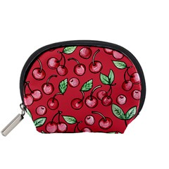 Cherry Cherries For Spring Accessory Pouches (small)