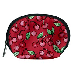 Cherry Cherries For Spring Accessory Pouches (Medium)