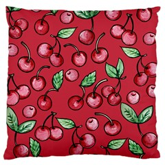 Cherry Cherries For Spring Standard Flano Cushion Case (two Sides)