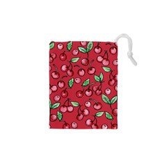 Cherry Cherries For Spring Drawstring Pouches (xs)