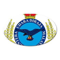 Crest Of Royal Malaysian Air Force Oval Magnet