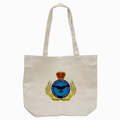 Crest of Royal Malaysian Air Force Tote Bag (Cream)