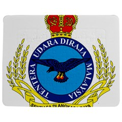 Crest of Royal Malaysian Air Force Jigsaw Puzzle Photo Stand (Rectangular)