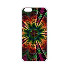 Kaleidoscope Patterns Colors Apple Seamless iPhone 6/6S Case (Transparent)