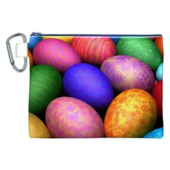 Easter Egg Canvas Cosmetic Bag (XXL)