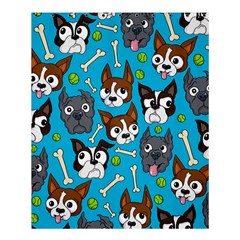 Face Dog And Bond Shower Curtain 60  X 72  (medium)
