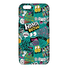 Haha Wow Pattern iPhone 6/6S TPU Case