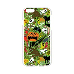 Halloween Pattern Apple Seamless iPhone 6/6S Case (Transparent)
