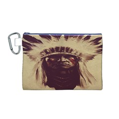 Indian Canvas Cosmetic Bag (M)