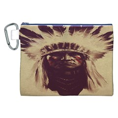 Indian Canvas Cosmetic Bag (XXL)