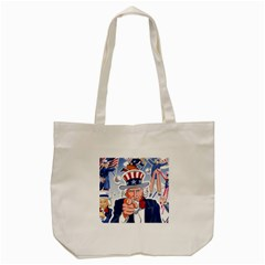 Independence Day United States Of America Tote Bag (Cream)