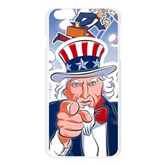 Independence Day United States Of America Apple Seamless iPhone 6 Plus/6S Plus Case (Transparent)