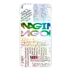Imagine Dragons Quotes Apple Seamless iPhone 6 Plus/6S Plus Case (Transparent)