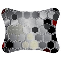Honeycomb Pattern Jigsaw Puzzle Photo Stand (Bow)
