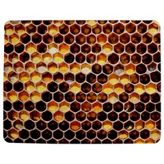 Honey Honeycomb Pattern Jigsaw Puzzle Photo Stand (Rectangular)