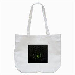 Green Android Honeycomb Gree Tote Bag (White)