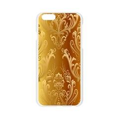 Golden Pattern Vintage Gradient Vector Apple Seamless iPhone 6/6S Case (Transparent)
