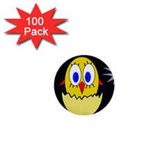 Chicken 1  Mini Buttons (100 pack)