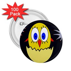 Chicken 2.25  Buttons (100 pack)
