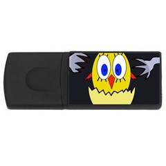 Chicken USB Flash Drive Rectangular (2 GB)