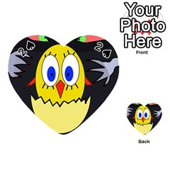 Chicken Playing Cards 54 (Heart)