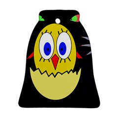 Chicken Bell Ornament (2 Sides)